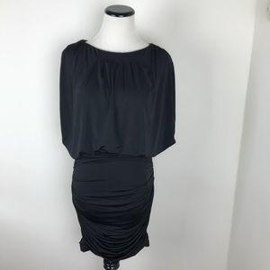 Aiden Mattox Black Stretchy Bodycon Dress